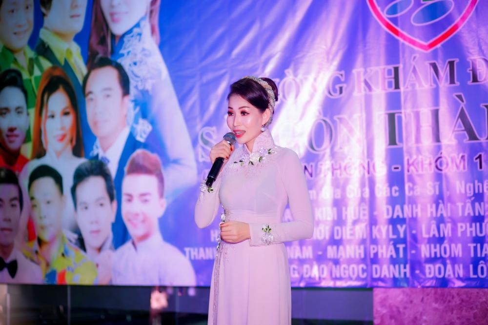 Chế Thanh, Thanh Kim Huệ biểu diễn trong đêm nhạc do HH Diễm Kyly tổ chức 3