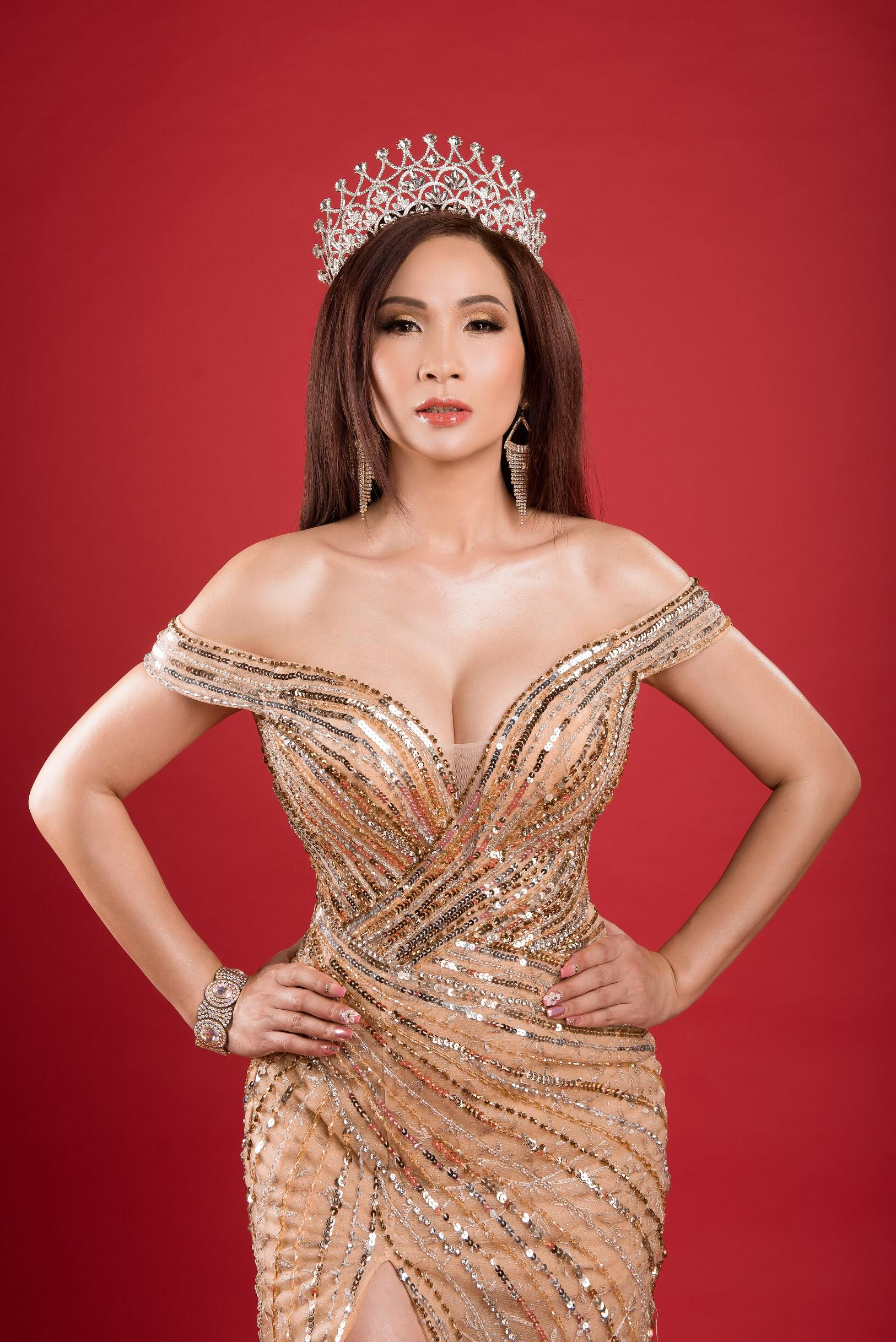 Hoa hậu VickyLin Đinh háo hức tổ chức cuộc thi nhan sắc tại Mỹ 1