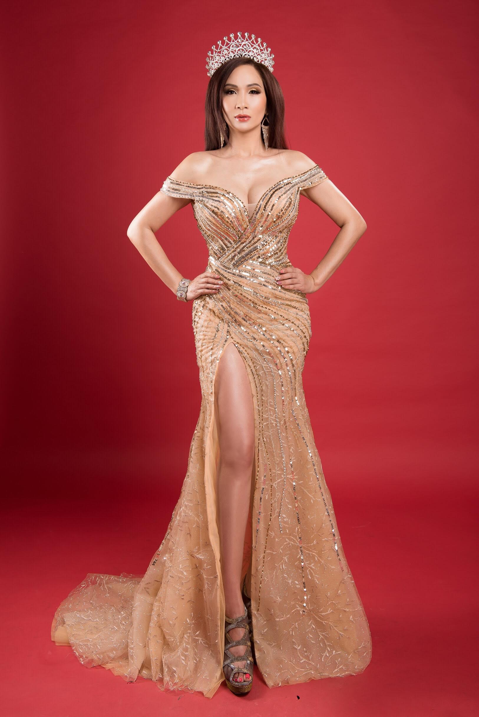 Hoa hậu VickyLin Đinh háo hức tổ chức cuộc thi nhan sắc tại Mỹ 4