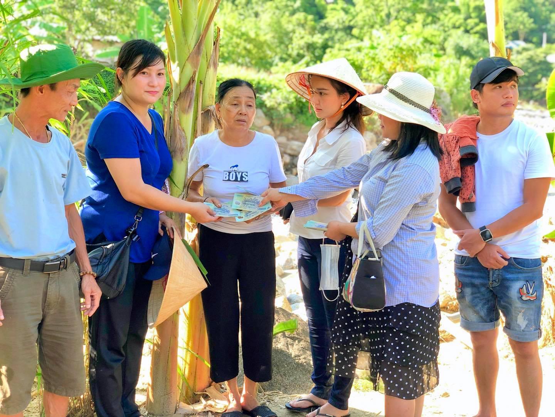 Doanh nhân Bảo Châu cùng diễn viên Luân Nguyễn hết lòng vì người dân nghèo 3