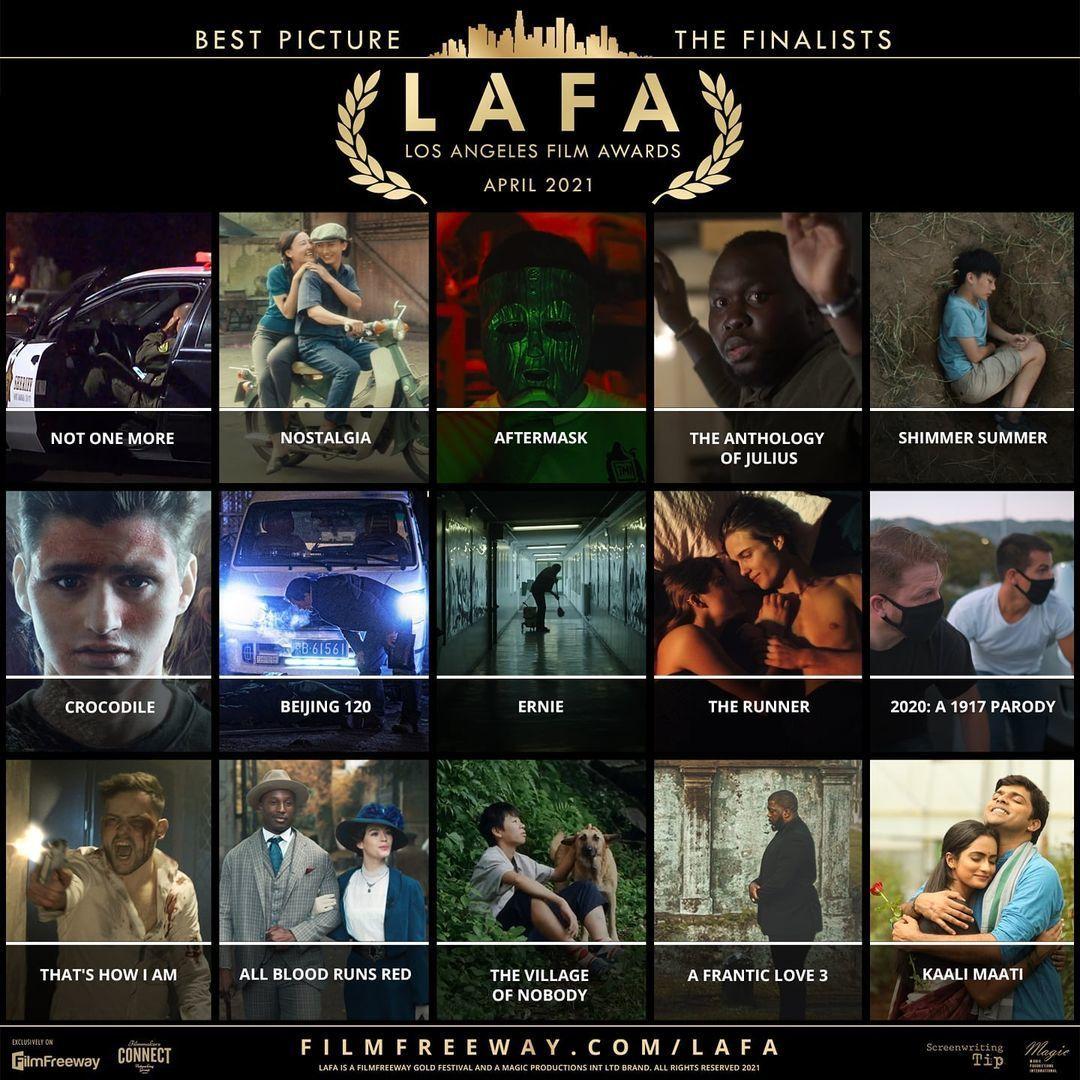 """Phim """"Nostalgia"""" nằm trong Top 15 phim ngắn xuất sắc nhất Los Angeles Film Awards."""