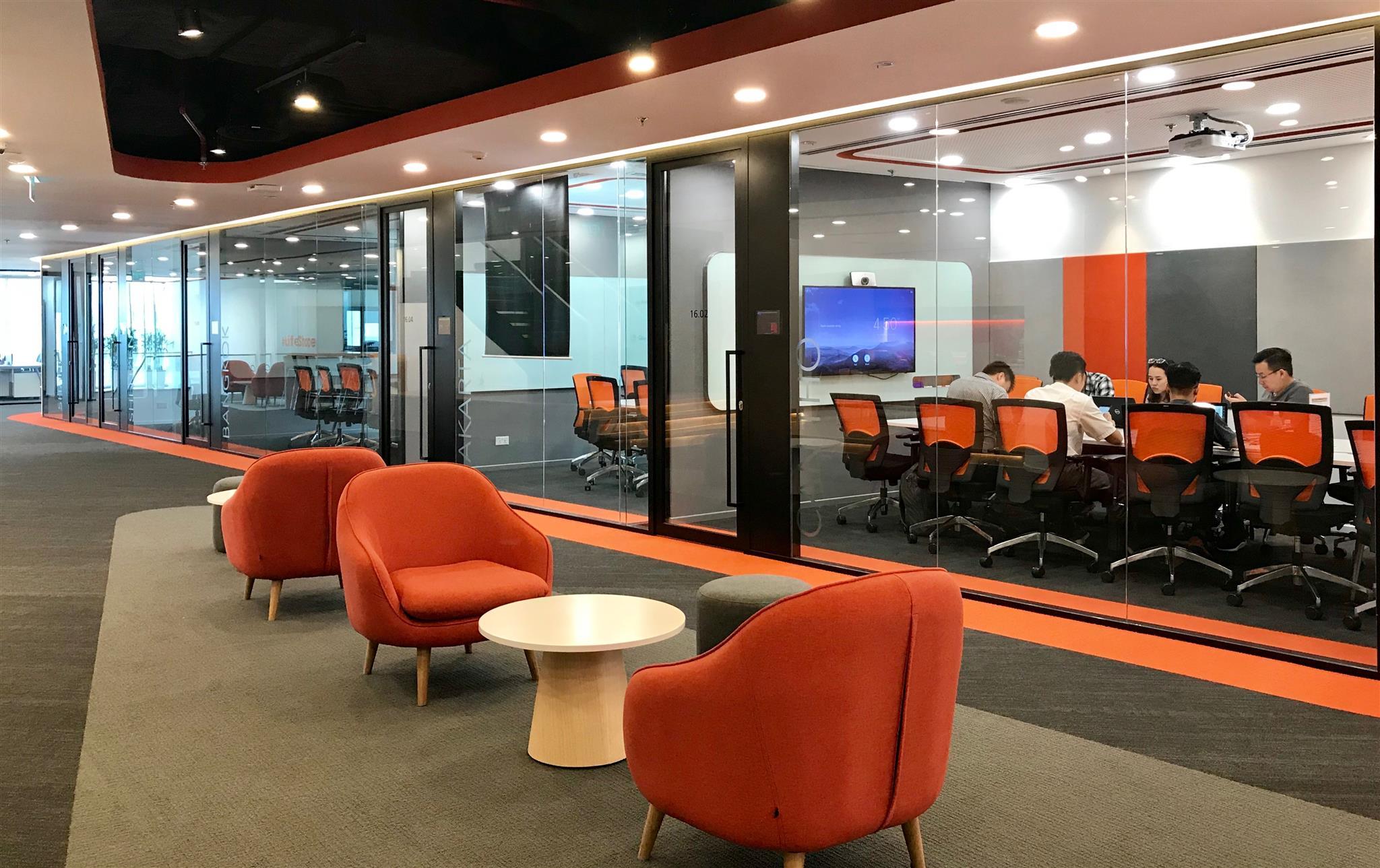 Không gian làm việc năng động khiến nhiều người trẻ muốn trải nghiệm tại shopee