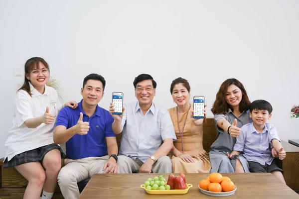 Ví VNPAY giúp cho mọi thế hệ trong gia đình có thể tiếp cận thanh toán điện tử